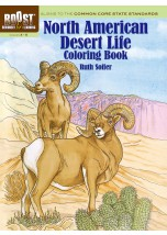 BOOST North American Desert Life Coloring Book