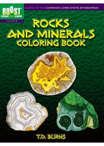 BOOST Rocks and Minerals Coloring Book