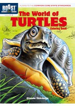 BOOST The World of Turtles Coloring Book