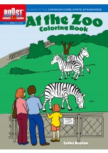 BOOST At the Zoo Coloring Book