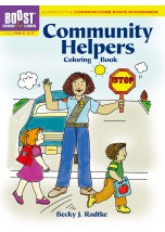 BOOST Community Helpers Coloring Book