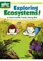 BOOST Exploring Ecosystems! An Environmentally Friendly Coloring Book