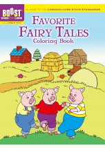 BOOST Favorite Fairy Tales Coloring Book.