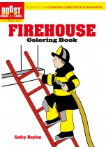 BOOST Firehouse Coloring Book