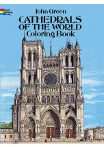 Cathedrals of the World Coloring Book.