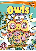 SPARK — Owl Coloring Book
